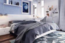 Ý tưởng màu sắc phòng ngủ The Green Star quận 7