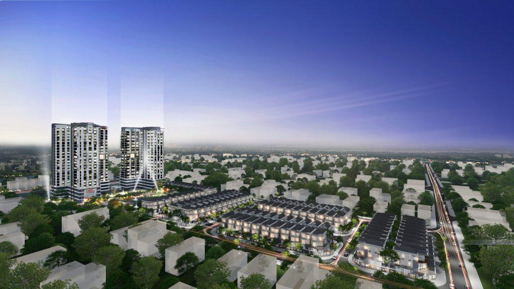 Phối cảnh dự án the green star quận 7
