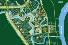 Vị trí Biệt thự The Green Star Quận 7