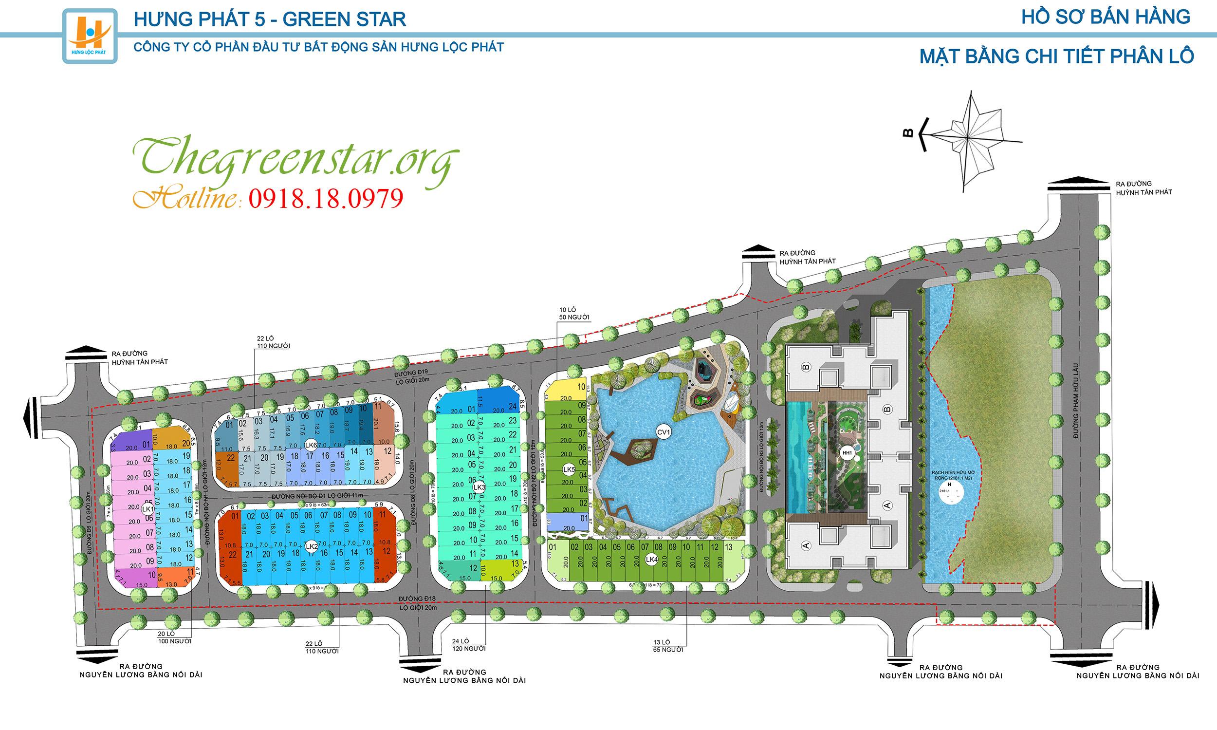 Thiết kế biệt thự Green Star Hưng Phát Quận 7