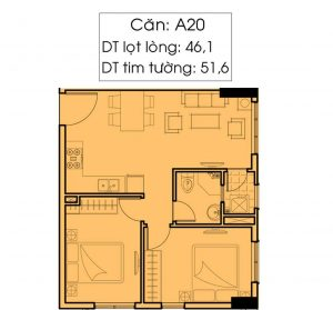 Thiết kế chi tiết Felisa Riverside A20